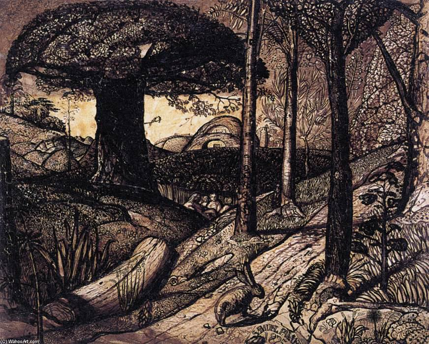 Wikioo.org - The Encyclopedia of Fine Arts - Painting, Artwork by Samuel Palmer - Early Morning