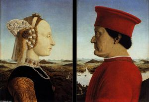 Portraits of Federico da Montefeltro and His Wife Battista Sforza