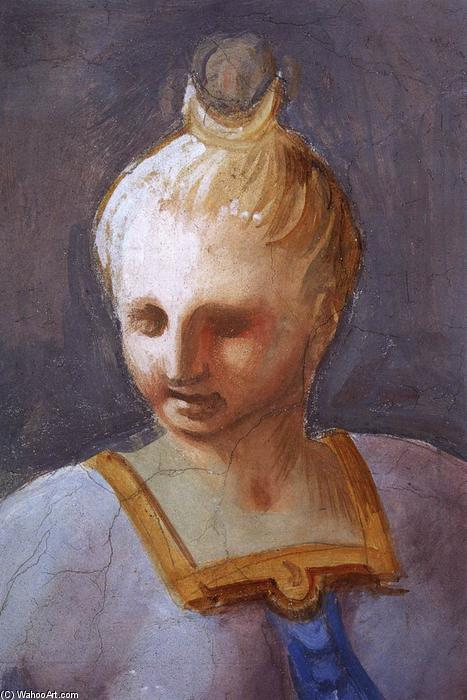 Wikioo.org - The Encyclopedia of Fine Arts - Painting, Artwork by Andrea Pozzo - Diana (detail)
