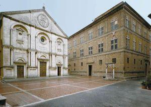 Cathedral and Palazzo Piccolomini