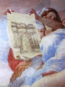 Allegory of Architecture (detail)