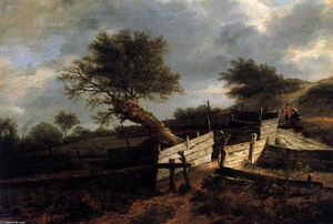 Wikioo.org - The Encyclopedia of Fine Arts - Artist, Painter  Isaack Van Ruisdael