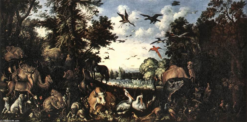 Wikioo.org - The Encyclopedia of Fine Arts - Painting, Artwork by Roelandt Savery - The Paradise
