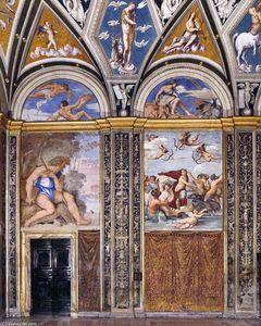View of the Loggia di Galatea