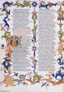 The Divine Comedy by Dante Alighieri (Folio 27v)
