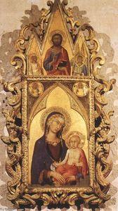 madonna col bambino con angeli e le  dopodomani  Salvatore