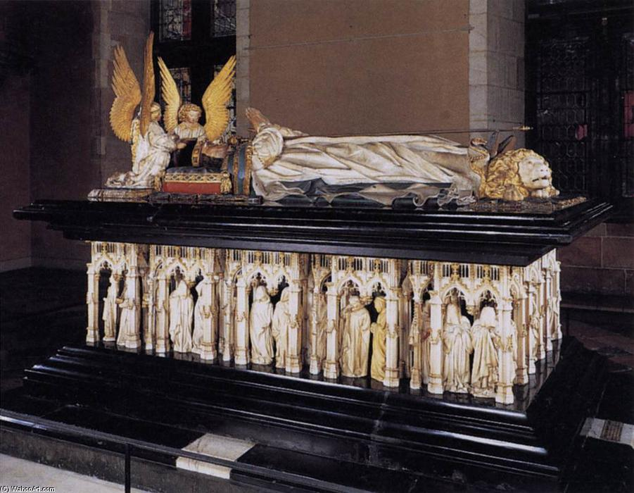 Wikioo.org - The Encyclopedia of Fine Arts - Painting, Artwork by Claus Sluter - Tomb of Philip the Bold, Duke of Burgundy