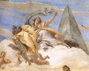 Bellerophon en Pegaso (detalle)