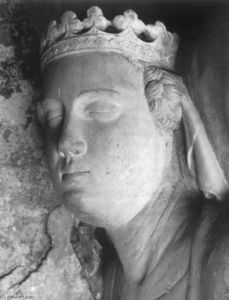 Tomb of Mary of Valois (detail)