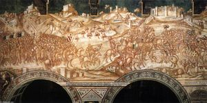 Victory of the Sienese Troops at Val di Chiana in 1363