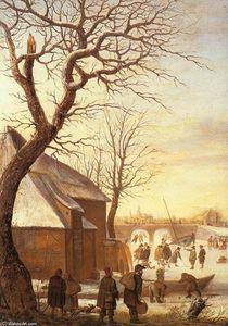 Winter Landscape (detail)