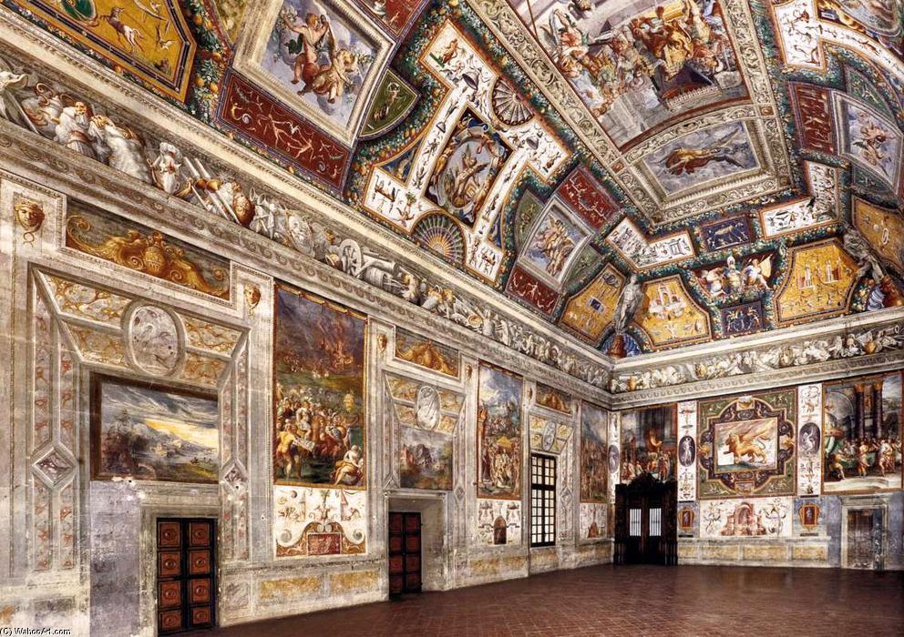 Wikioo.org - The Encyclopedia of Fine Arts - Painting, Artwork by Cesare Baglione - Interior view