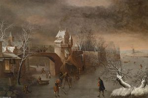 Wikioo.org - The Encyclopedia of Fine Arts - Artist, Painter  Anthonie Beerstraten