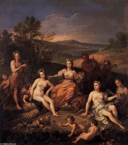 Wikioo.org - The Encyclopedia of Fine Arts - Artist, Painter  Louis The Younger Boullogne