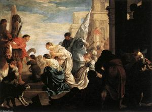 A Scene from Roman History