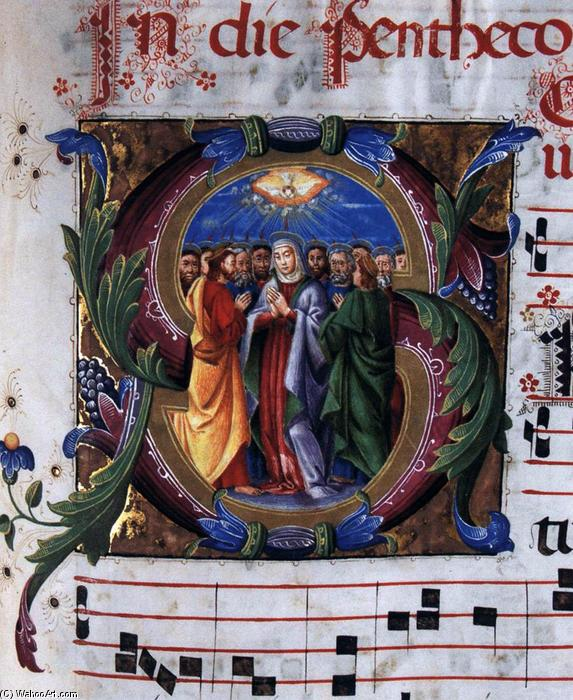 Wikioo.org - The Encyclopedia of Fine Arts - Painting, Artwork by Eufrasia Burlamacchi - Temporal Gradual (detail)