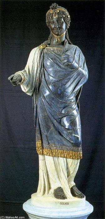 Wikioo.org - The Encyclopedia of Fine Arts - Painting, Artwork by Nicolas Cordier - Gypsy Girl (Zingarella)