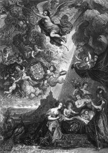 Allegory of the Birth of Prince Wilheim Heinrich von Brandenburg