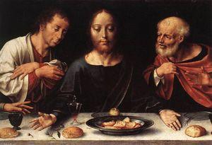 Altarpiece of the Lamentation (detail)