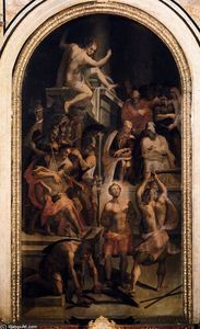 The Martyrdom of St Hadrian