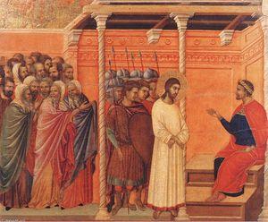 Cristo davanti a Pilato di nuovo