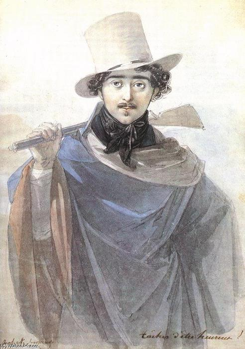 Wikioo.org - The Encyclopedia of Fine Arts - Painting, Artwork by Johann Nepomuk Ender - Count István Széchenyi