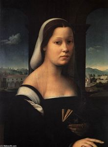 'Portrait of a Woman, called ''The Nun'''