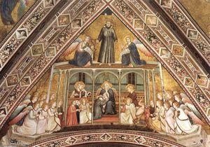 Francescano Allegorie  l allegoria  di  Obbedienza