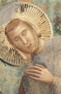 leggenda di san francesco : 3 . sogno del palazzo ( particolare )
