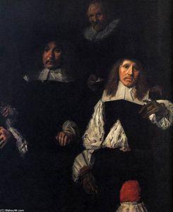 Regents of the Old Men's Almshouse (detail)