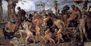 Procesión triunfal del Bacchus