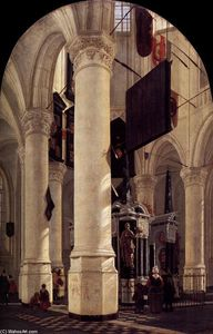 The Nieuwe Kerk in Delft with the Tomb of William the Silent