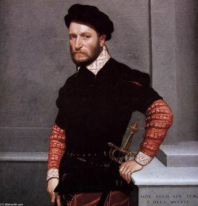 Portrait of Don Gabriel de la Cueva, later Duke of Alburquerque (detail)