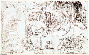 Sketchbook, folio 5 verso
