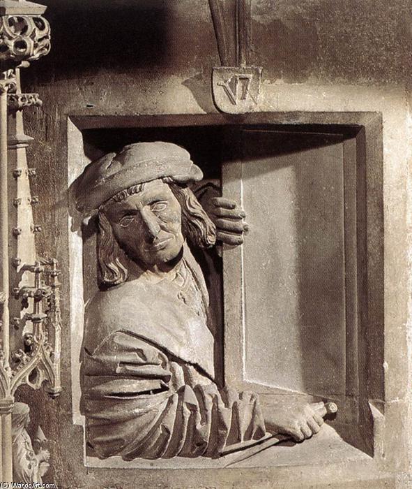 Wikioo.org - The Encyclopedia of Fine Arts - Painting, Artwork by Anton Pilgram - Self-portrait