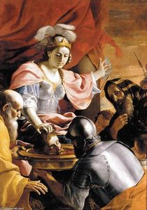 Queen Tomyris Receiving the Head of Cyrus, King of Persia