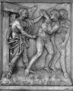 Expulsion of Adam and Eve from the Paradise