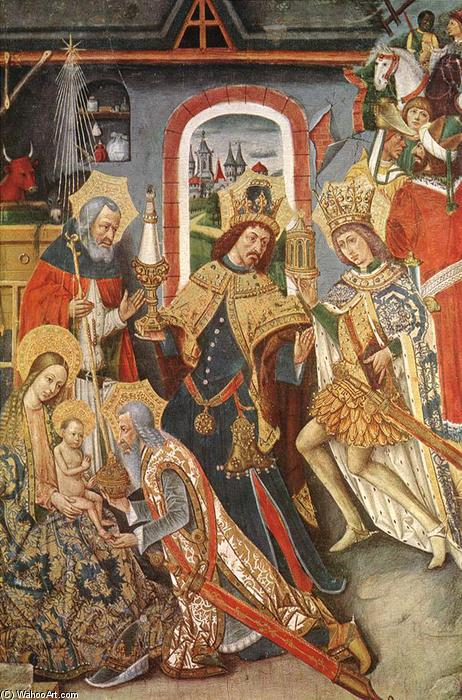 Wikioo.org - The Encyclopedia of Fine Arts - Painting, Artwork by Juan Reixach - Adoration of the Magi