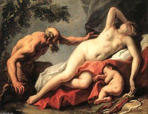 Venus and Satyr