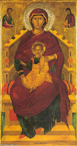 The Mother of God Enthroned