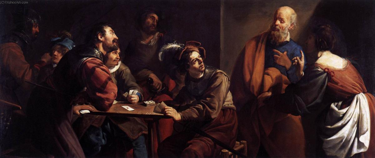 a visual analysis of the denial of saint peter a painting by valentin de boulogne Depictions of the last supper in christian art have been undertaken by artistic masters for centuries, leonardo da vinci's late 1490s mural painting in milan, italy, being the best-known example.