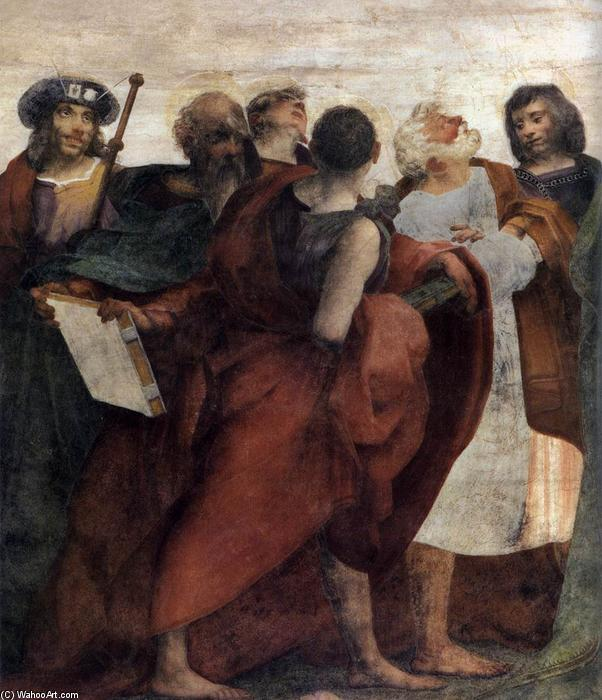 Wikioo.org - The Encyclopedia of Fine Arts - Painting, Artwork by Rosso Fiorentino - Assumption of the Virgin (detail)