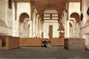 Interior of the Church of St Odulphus, Assendelft