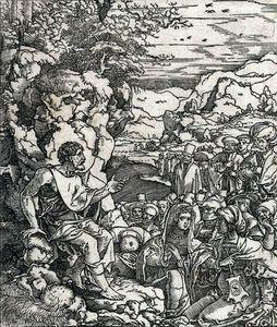 John the Baptist (or the Apostle Philip) Preaching