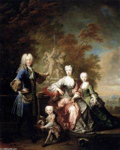 Count Ferdinand Adolf von Plettenberg and his Family