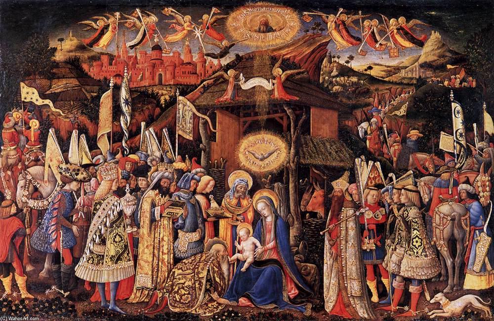Wikioo.org - The Encyclopedia of Fine Arts - Painting, Artwork by Antonio Vivarini - Adoration of the Magi
