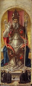 St Ambrose Polyptych (central panel)