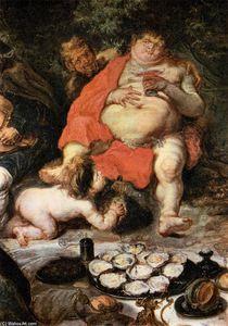 Allegorical Scene (detail)