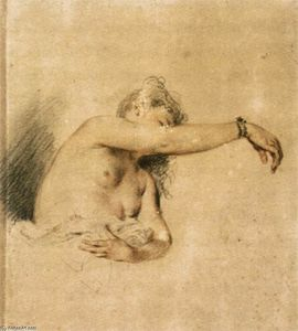 Nude with Right Arm Raised