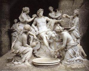 Apollon y las ninfas
